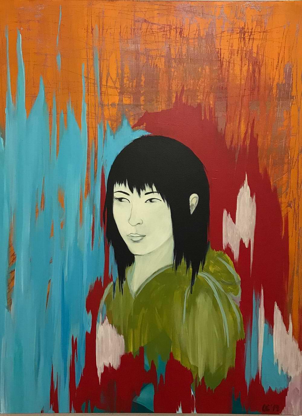 christiane haag japan japaneseart japaneseculture harukimurakami killingcommendatore painting malerei