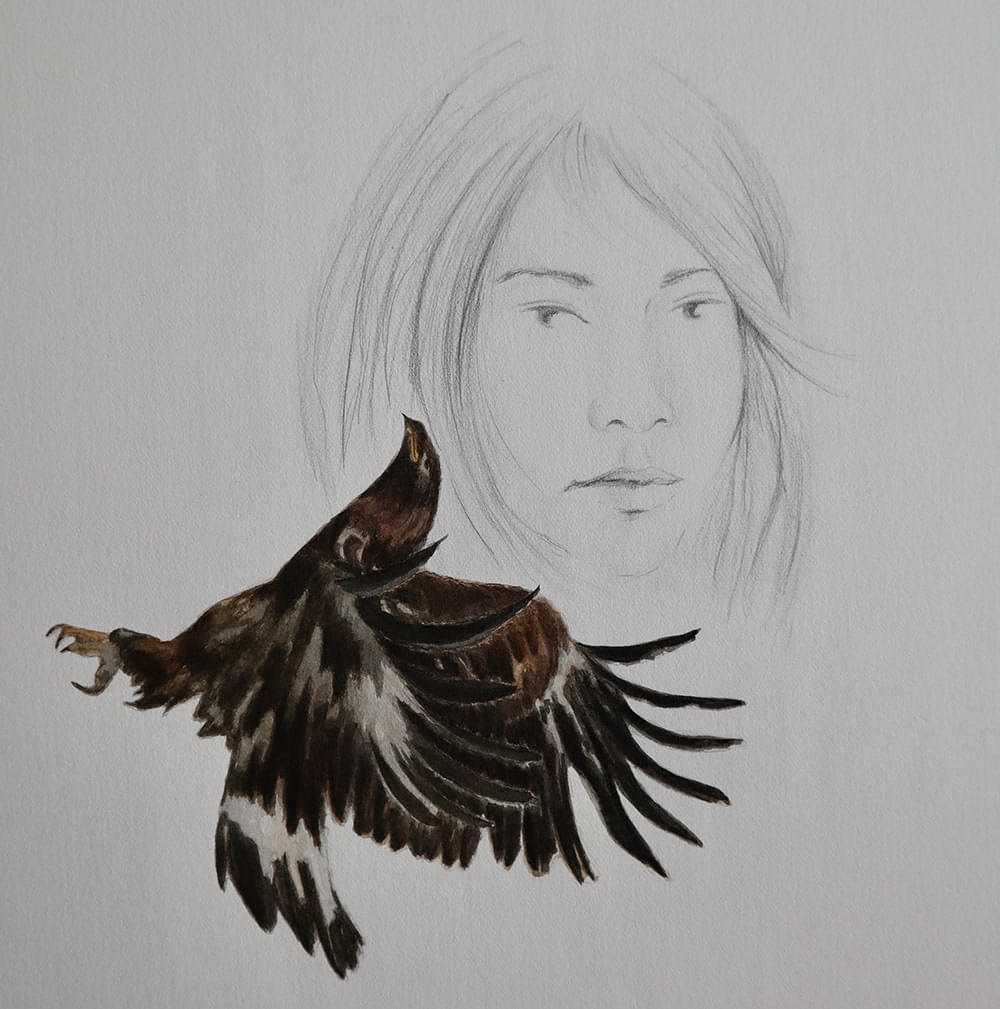 hristianehaag-kuenstlerin-artist-zeichnung-drawing-collage-gefluechtetefrauen-femalerefugees-voegel-birds-1-3