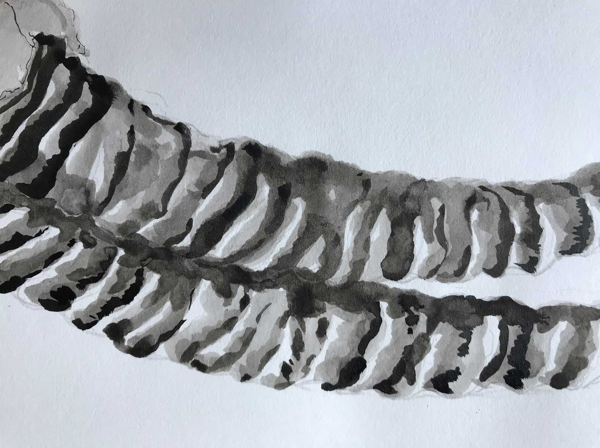 christianehaag-ancestors-zeichnung-drawing-kunst-art-horn-