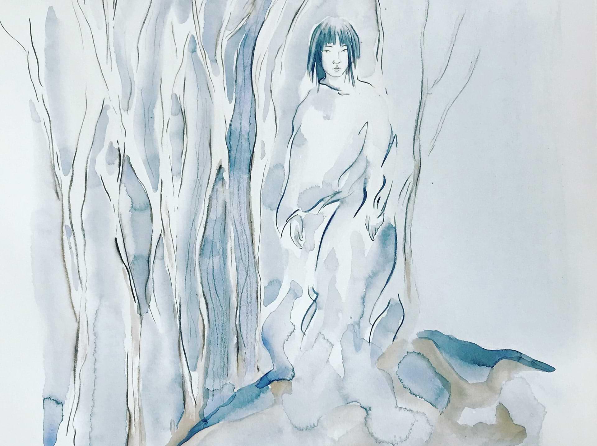 christianehaag-theboywholefthome-kunst-art-drawing-painting-aquarell-zeichnung-japan-harukimurakami